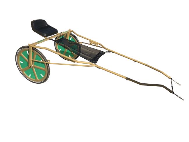 RIO COBRA RACE SULKY - NO WHEELS - Garrard's Horse and Hound